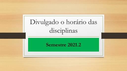 horário 2021.2